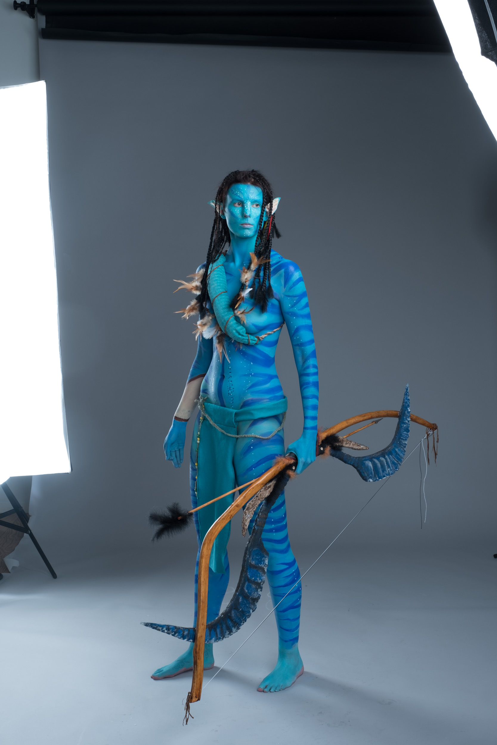 Full Body paint 9 hrs of work & Antti Karppinen Photography Alias Creative I see you u2013 The Avatar ...
