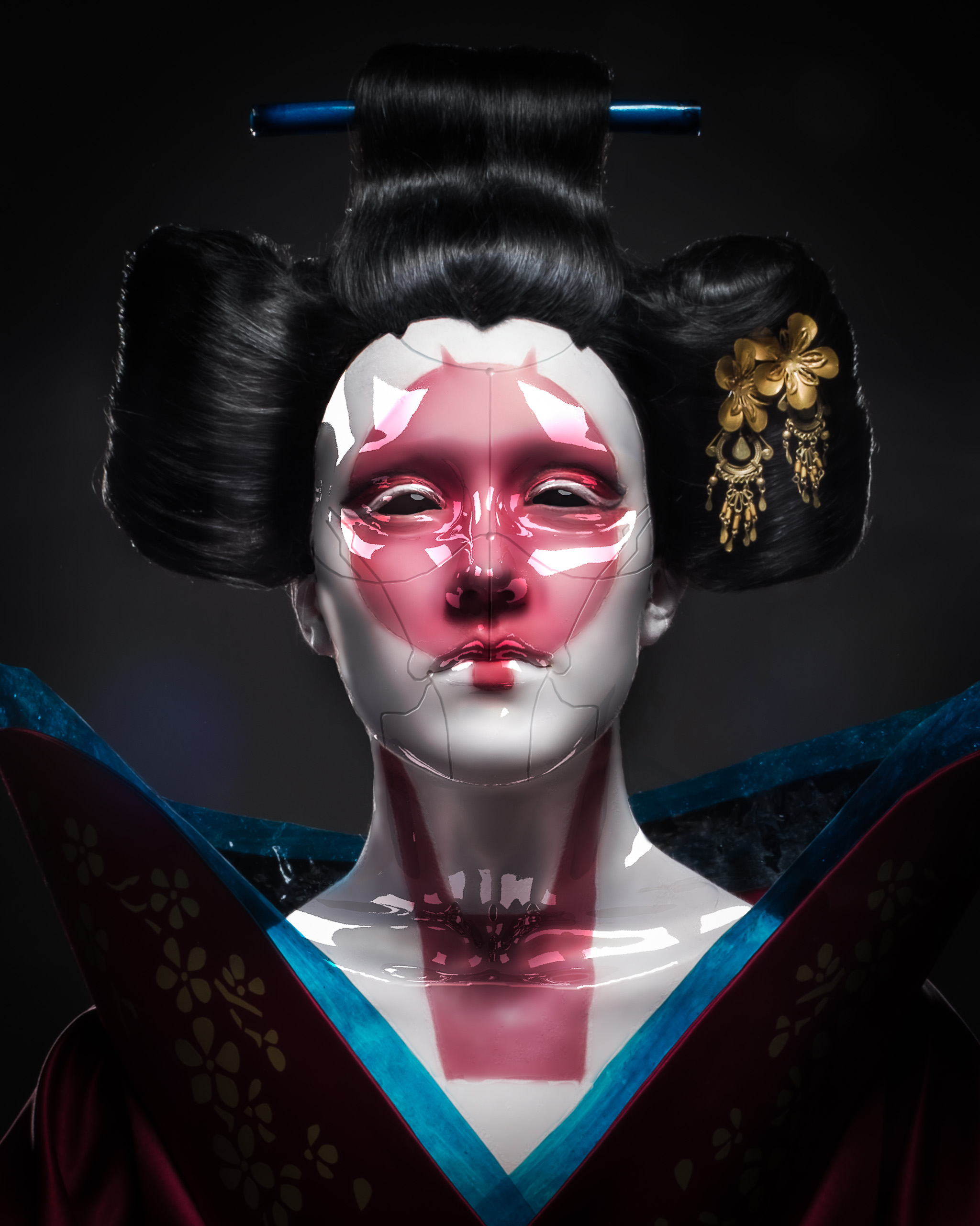 Antti Karppinen Photography Alias Creative Eyes Are The Mirror Of The Soul Ghost In The Shell Robot Geisha Antti Karppinen Photography Alias Creative